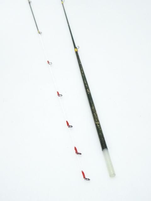 わかさぎ竿ガイド付き穂先|楽しい和竿作りショップ釣具のkase